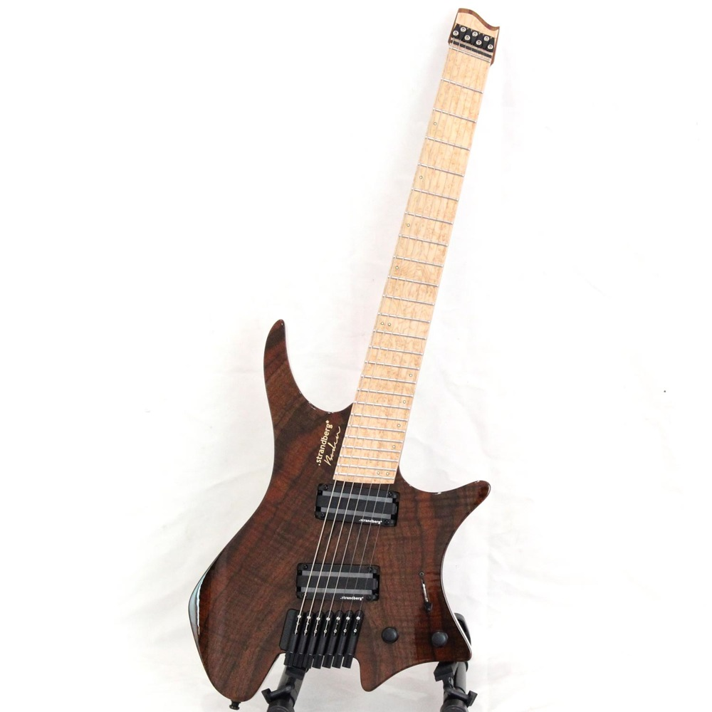 Strandberg boden j7 custom black walnut 7 strings electric for Strandberg boden 7
