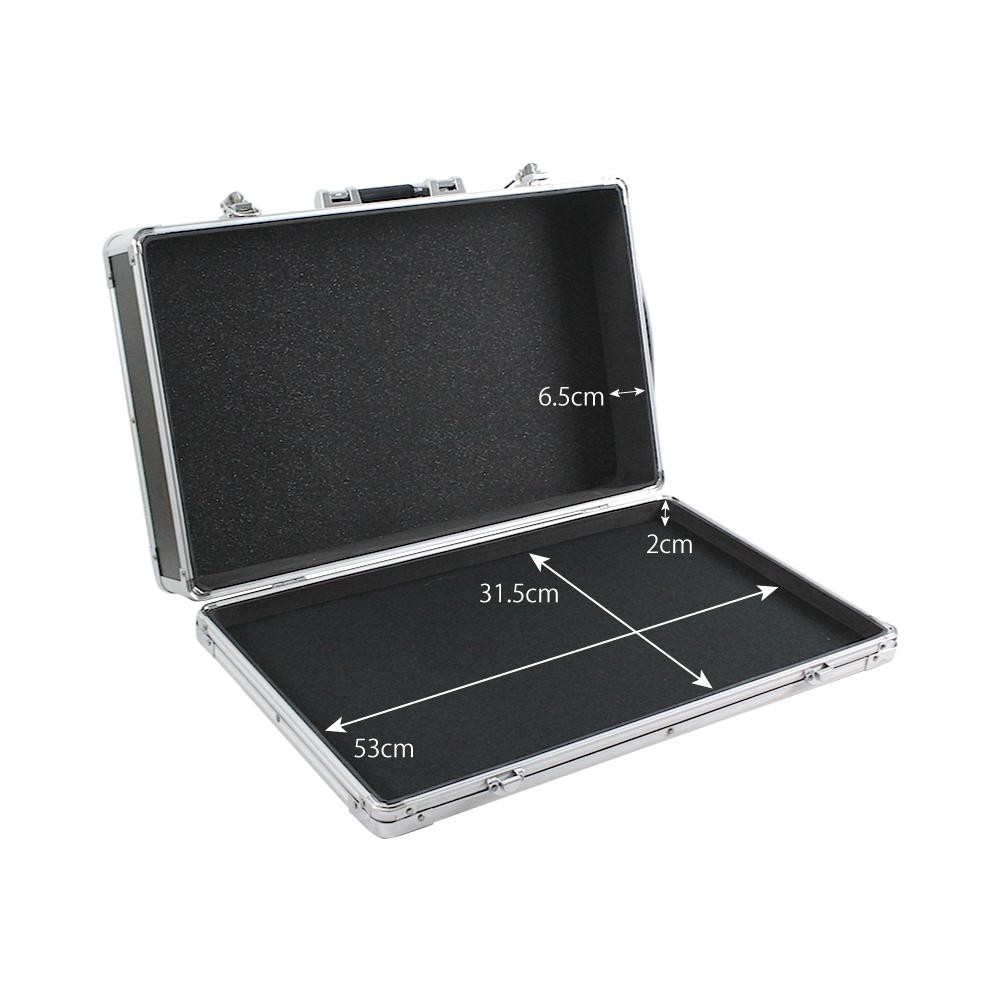 guitar effect pedal board case storage rack 20 9 x 12 4 lightweight solid ebay. Black Bedroom Furniture Sets. Home Design Ideas