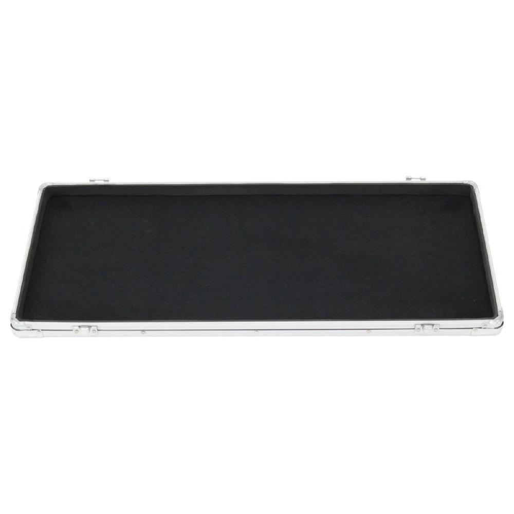 guitar effect pedal board case storage rack 27 x 11 6 lightweight solid picclick ca. Black Bedroom Furniture Sets. Home Design Ideas