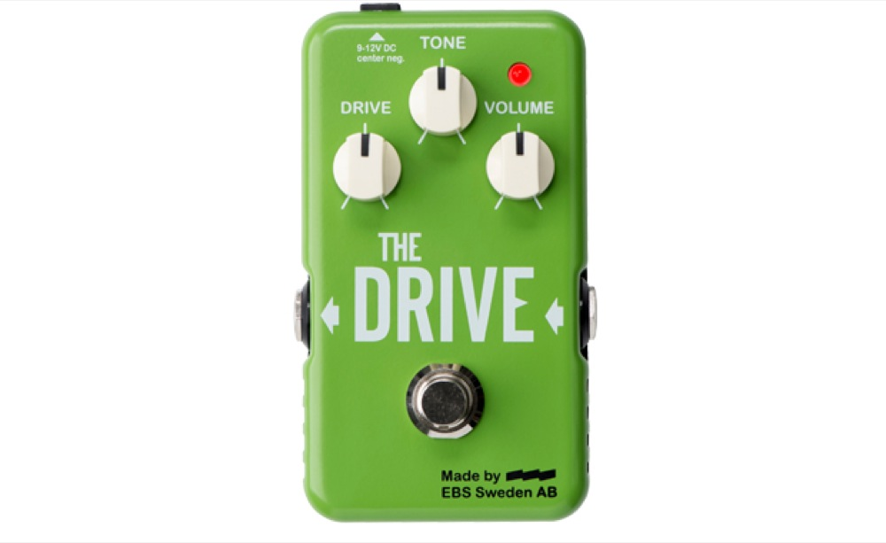 EBS The Drive BOOST OVERDRIVE Guitar Bass Effect Pedal Overdrive