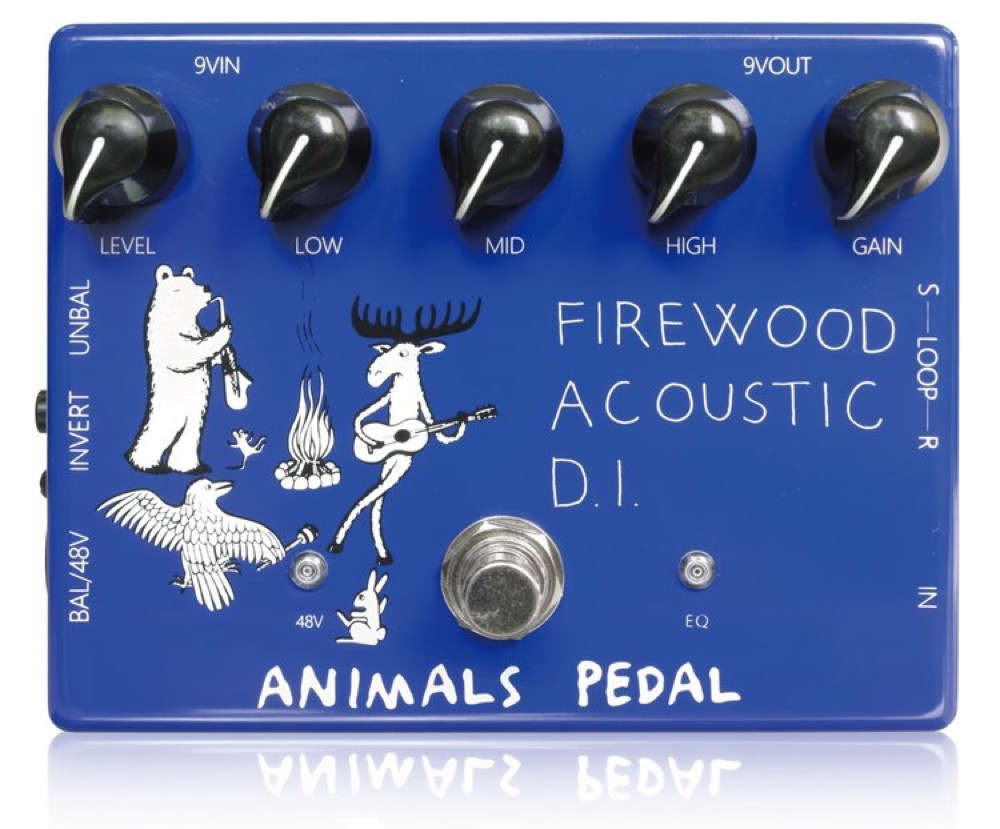 Animals Pedal Firewood Acoustic D.I. Guitar Effect Pedal