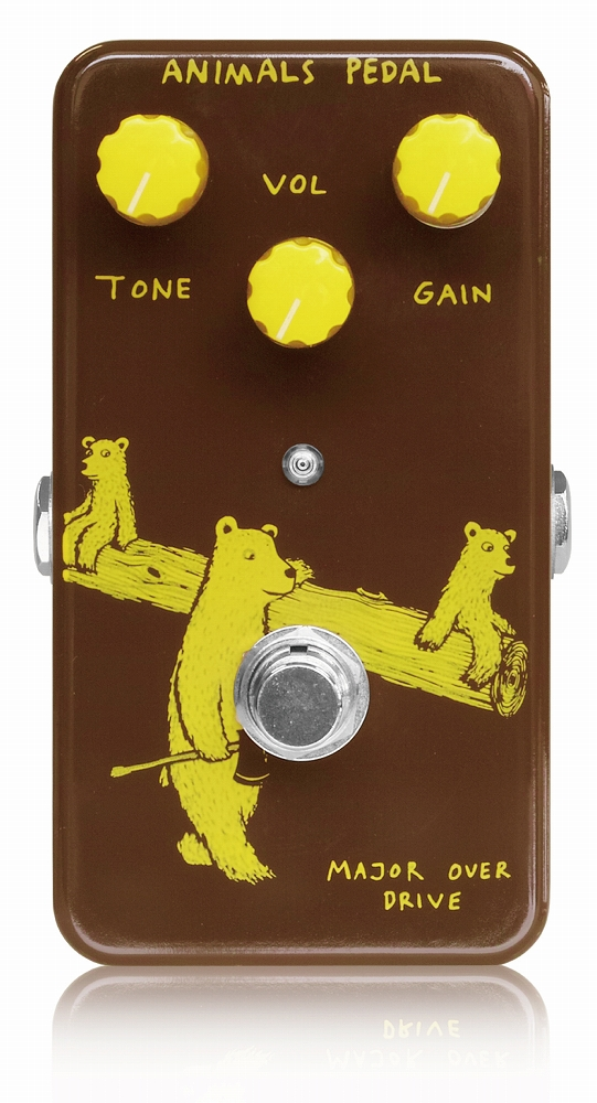 Animals Pedal Major Overdrive Guitar Effect Pedal
