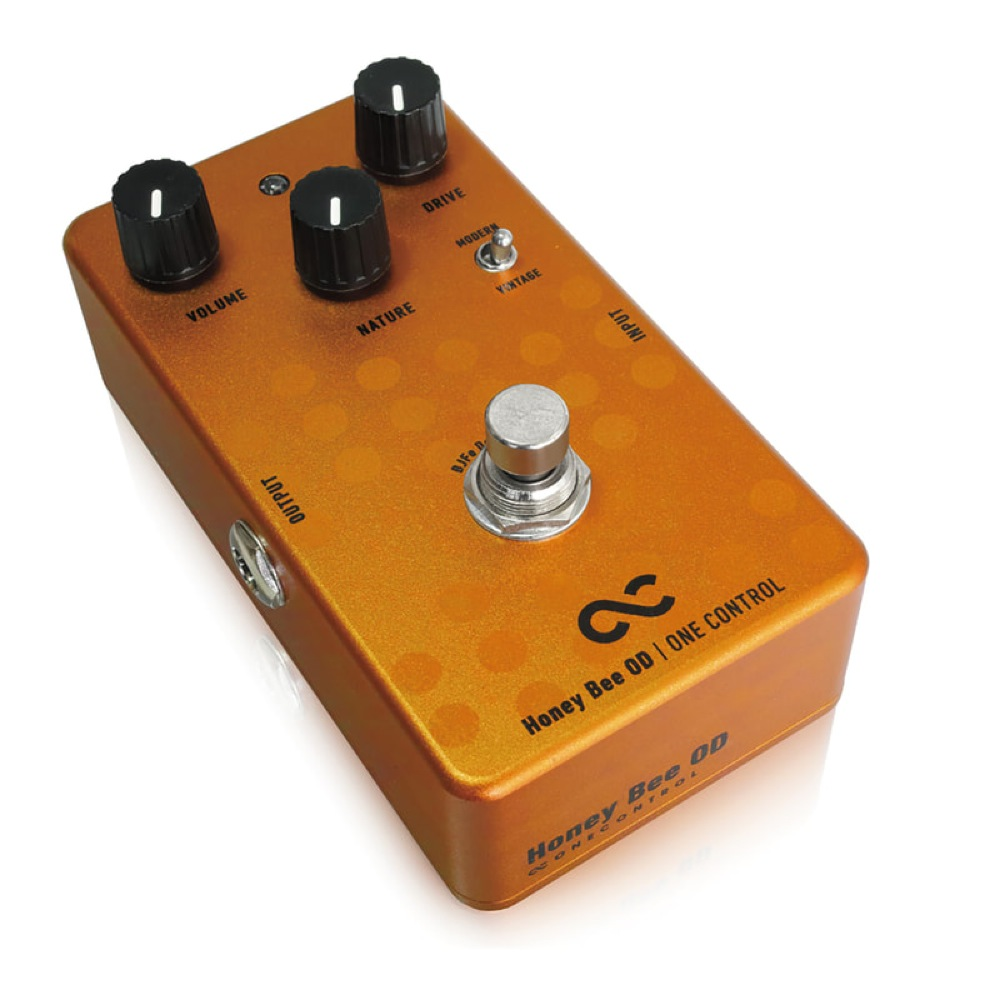 One-Control-BJFe-Series-Honey-Bee-OD-Overdrive-Guitar-Effect-Pedal thumbnail 2