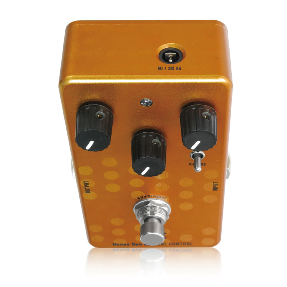 One-Control-BJFe-Series-Honey-Bee-OD-Overdrive-Guitar-Effect-Pedal thumbnail 3