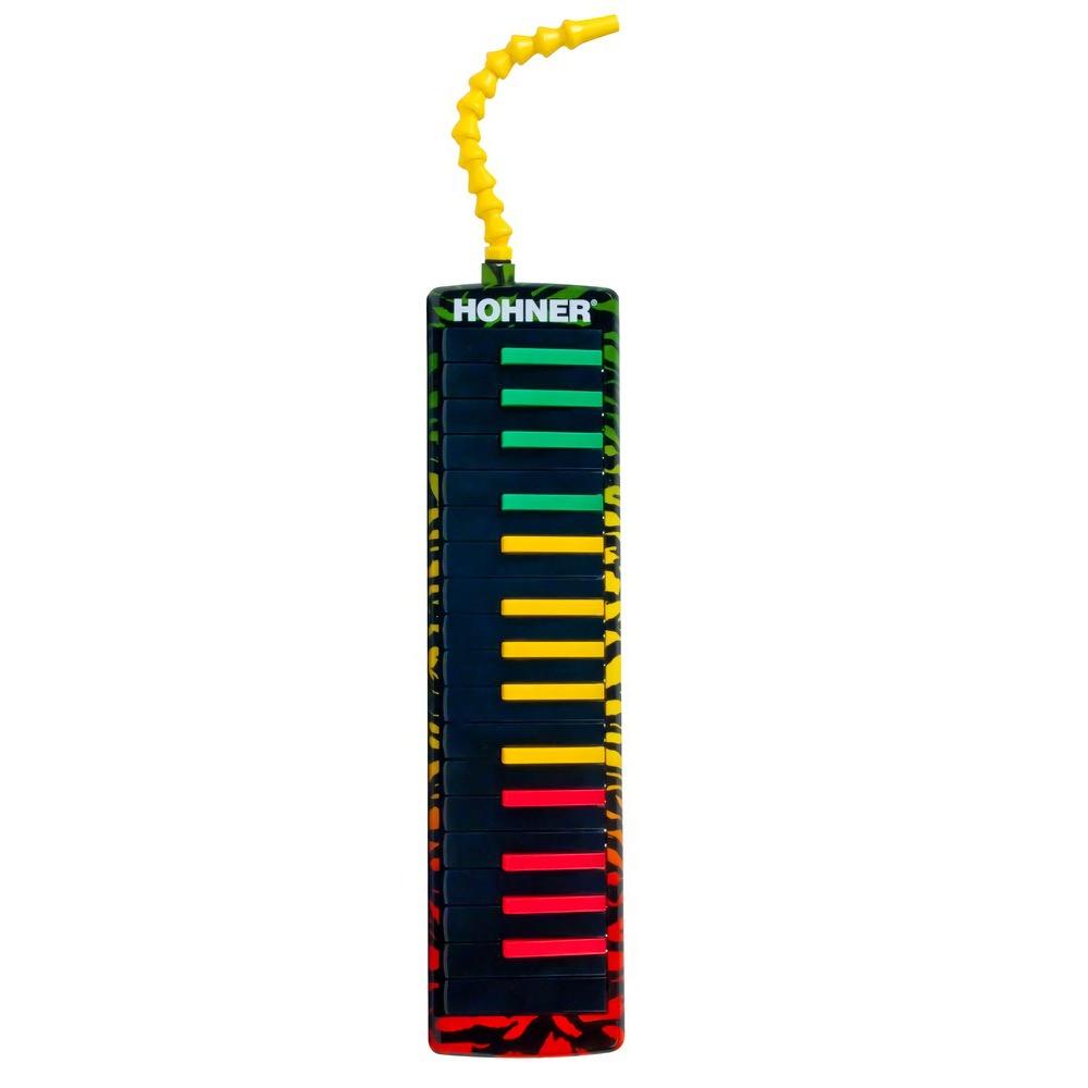HOHNER Airboard Rasta 32 Melodica 32 Key with Bag Keyboard Harmonica