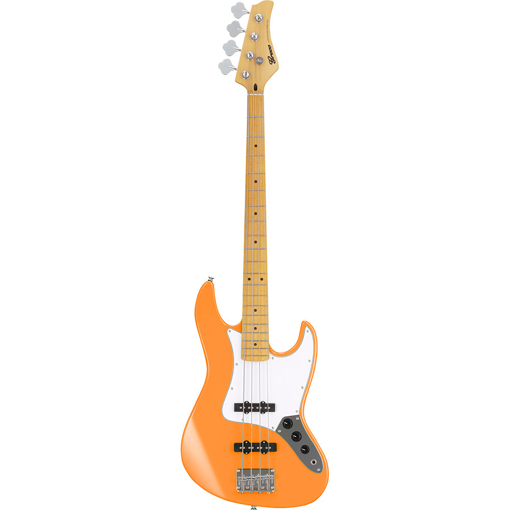GRECO WIB-J MA Light Orange LOR Maple Fingerboard Electric Bass guitar