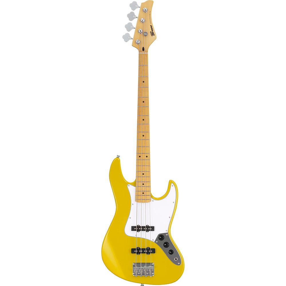 GRECO WIB-J MA Gelb YL Maple Fingerboard Electric Bass guitar