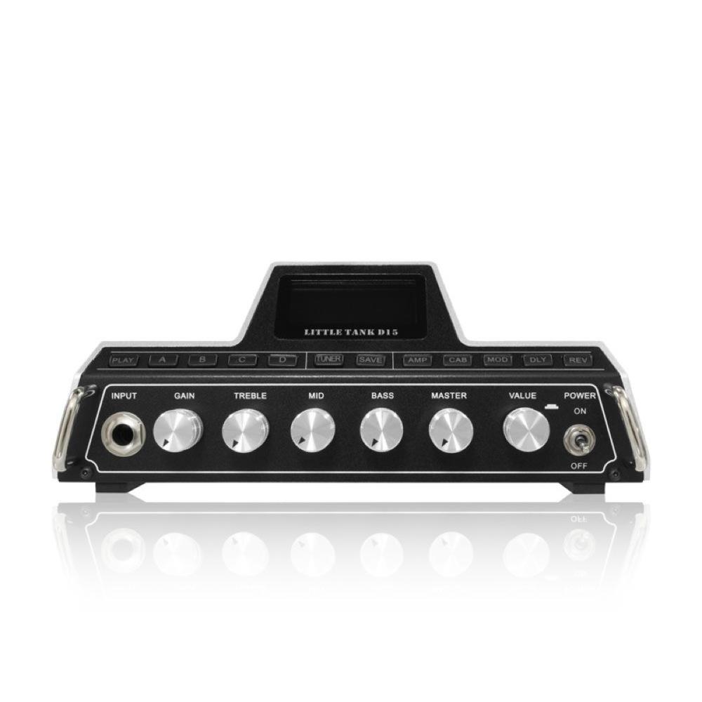 Mooer Little Tank D15 Modeling Mini Guitar Amplifier Head