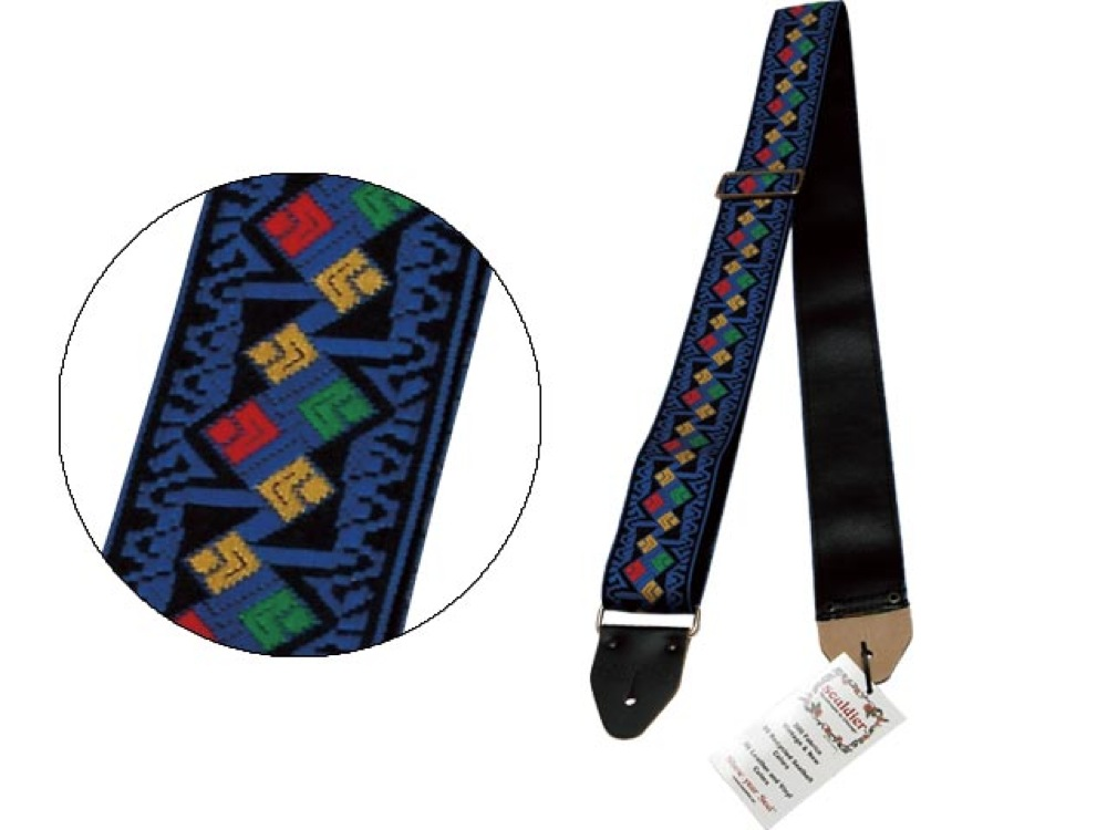 Souldier Ace Replica straps Jimi bluee for Electric Acoustic Guitar Bass