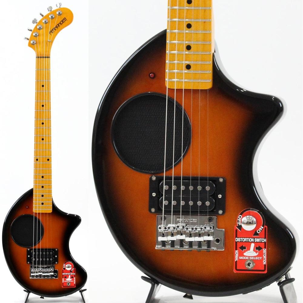 Details about FERNANDES Nomad ZO-3 w/Tremolo 2SB mini Travel Electric Guitar