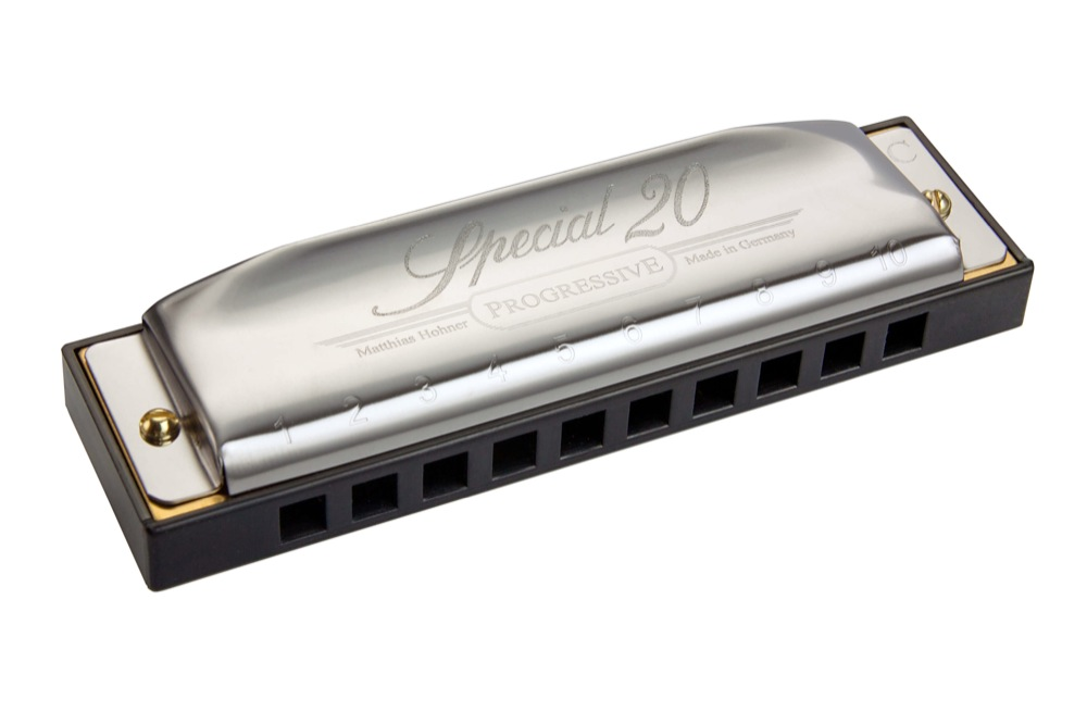 HOHNER Special 20X Classic 560 20X 10-Holes Harmonica Key of D