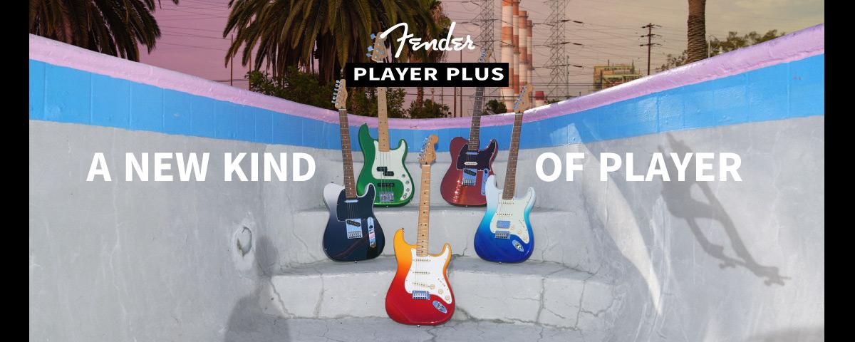 Fender Player Plusシリーズ