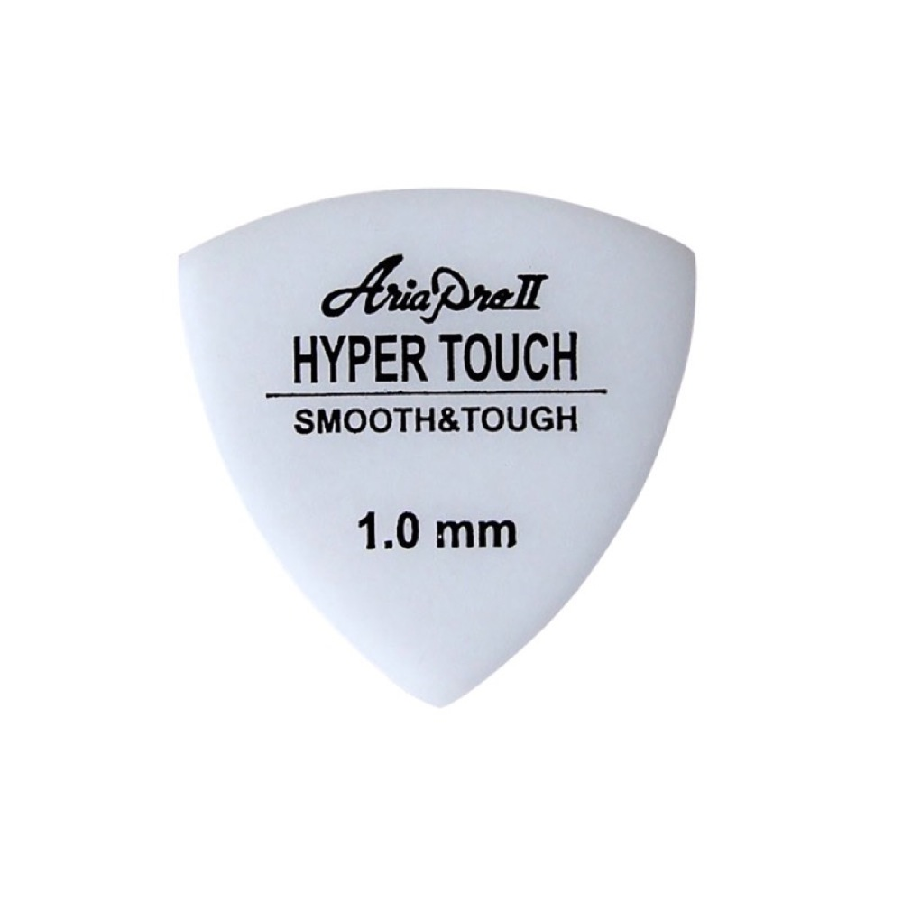 AriaProII HYPER TOUCH Triangle 1.0mm WH×10枚 ギターピック