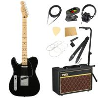 Fender Player Telecaster LH MN Black レフティ エレキギター VOXアンプ付き 入門11点セット